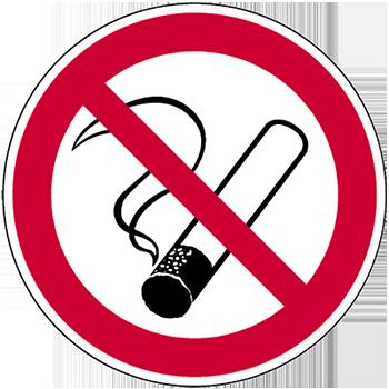 Rauchen verboten | Piktogramme und Sicherheitsschilder