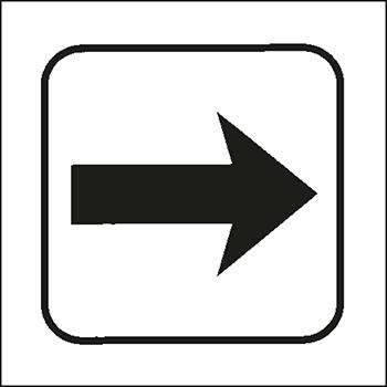 Pfeil | Piktogramme und Sicherheitsschilder