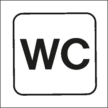 WC | Piktogramme und Sicherheitsschilder