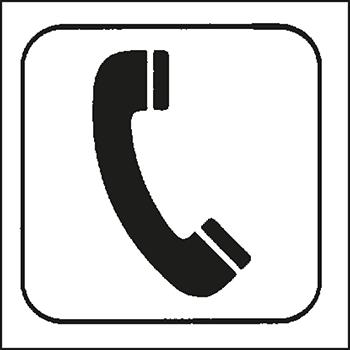 Telefon | Piktogramme und Sicherheitsschilder