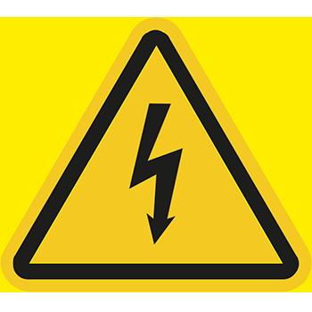 Blitzpfeil | Piktogramme und Sicherheitsschilder