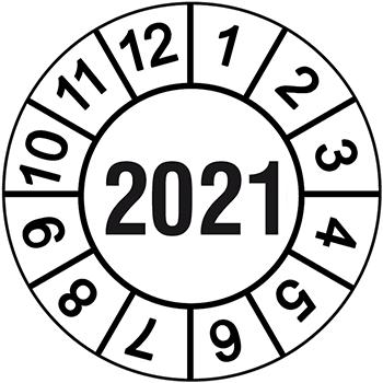 2021 | Prüfplaketten