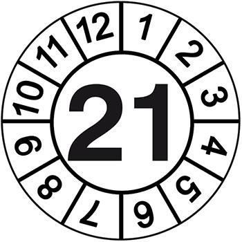 21 | Prüfplaketten