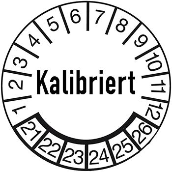 Kalibriert | Prüfplaketten