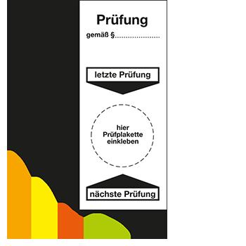 Grundplakette - Prüfung | Prüfplaketten