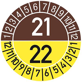 21/22 | Prüfplaketten