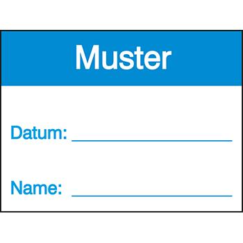 Muster | Qualitätssicherungsetiketten