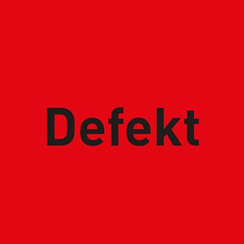 Defekt | Qualitätssicherungsetiketten