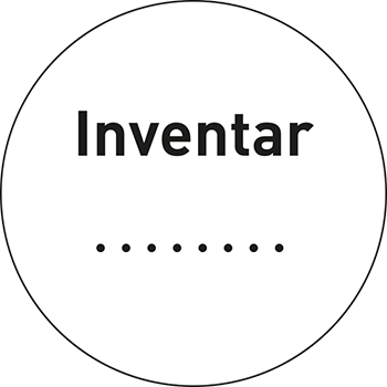 Inventar | Qualitätssicherungsetiketten