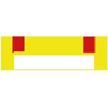 Gelb-Rot | Rohrmarkierungen