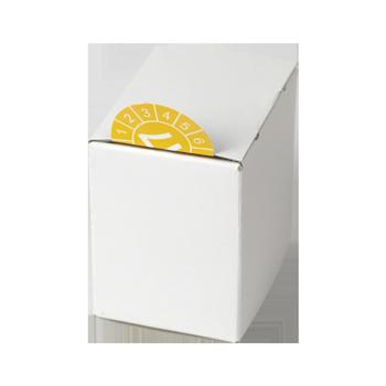Kartonspender (80x80x60) | Etikettenspender
