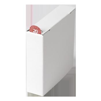 Kartonspender (110x110x30) | Etikettenspender