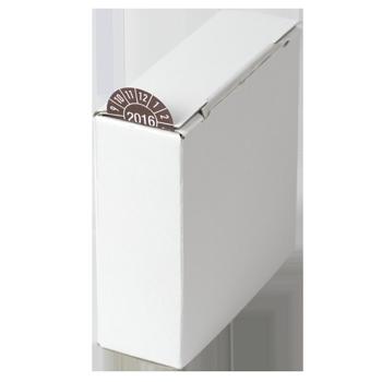 Kartonspender (110x110x40) | Etikettenspender