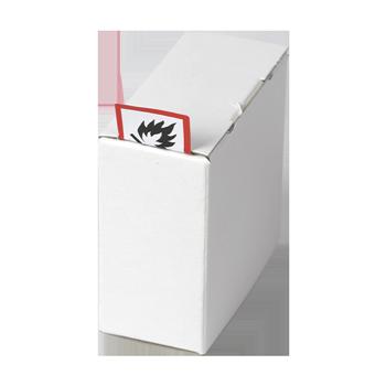 Kartonspender (110x110x60) | Etikettenspender