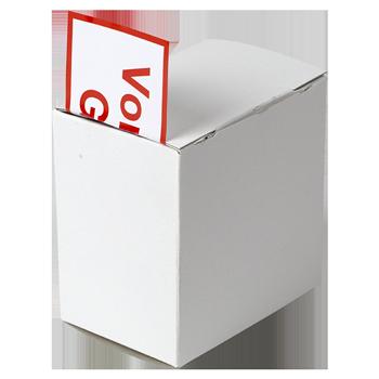 Kartonspender (110x110x75) | Etikettenspender