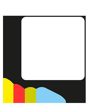 Quadrat, 25 x 25 mm | Symbole