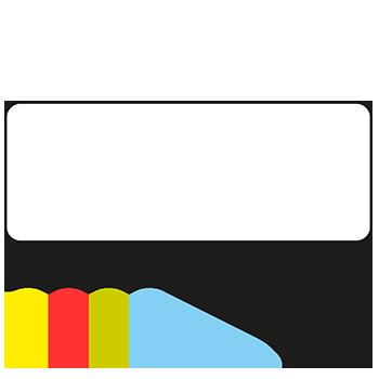 Rechteck, 50 x 19 mm | Symbole