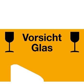 Vorsicht Glas | Versandgut und Verpackungsetiketten