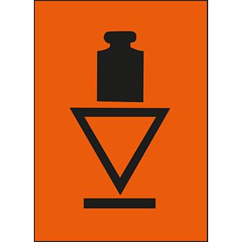 Kopflastig | Versandgut und Verpackungsetiketten
