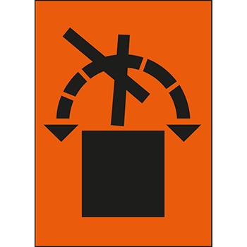 Packstück nicht rollen | Versandgut und Verpackungsetiketten