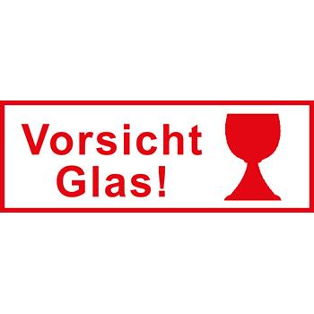 Vorsicht Glas! | Versandgut und Verpackungsetiketten
