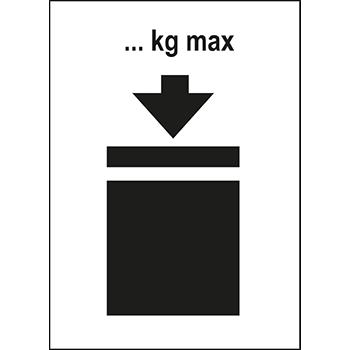 Begrenzung der Masse | Versandgut und Verpackungsetiketten