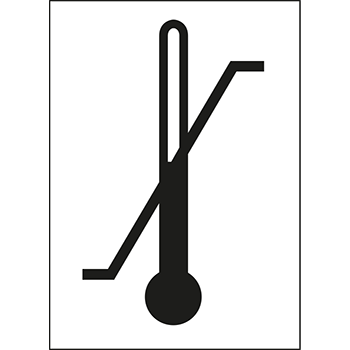 Zul. Temperaturbereich | Versandgut und Verpackungsetiketten