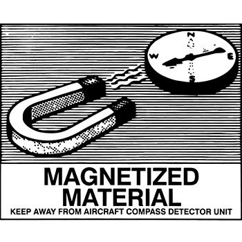 Magnetized material | Versandgut und Verpackungsetiketten